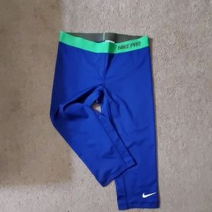 Nike capri leggings used once! LIKE NEW